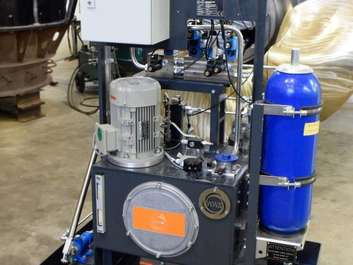 Turbinen Hydraulik entwickelt gefertigt WWS Wasserkraft