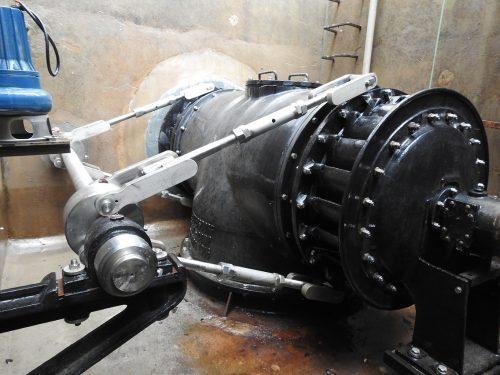 WWS Revitalisierung Francis Zwillingsturbine Modernisierung