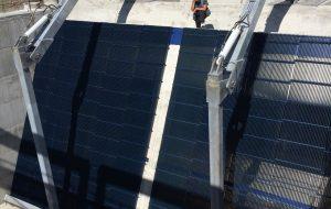 WWS Feinrechenfeld strömungsoptimierten Profilen Stahlwasserbau