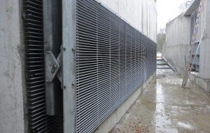 WWS Horizontalrechen Fischfreundlich robust Stahlwasserbau