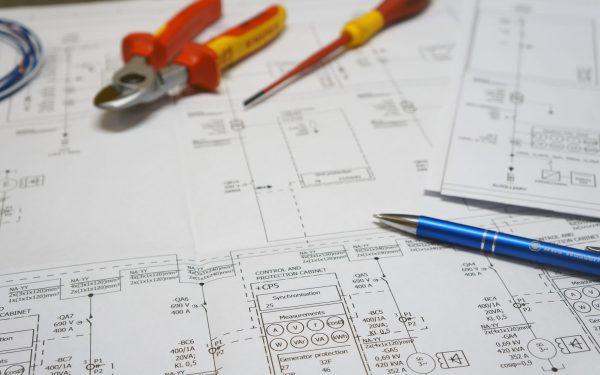 Einliniendiagramm Schaltplan Turbinen Elektrik Verkabelung