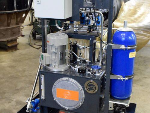 Turbinen Hydraulik entwickelt & gefertigt von WWS Wasserkraft