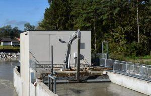 WWS çöp tırmık temizleme makinesi ekskavatör tipi
