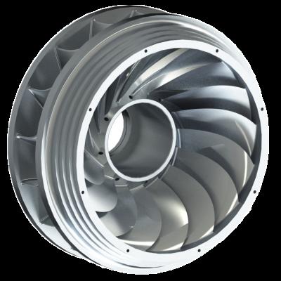 Francis Laufrad 3D Turbine WWS Wasserkraft