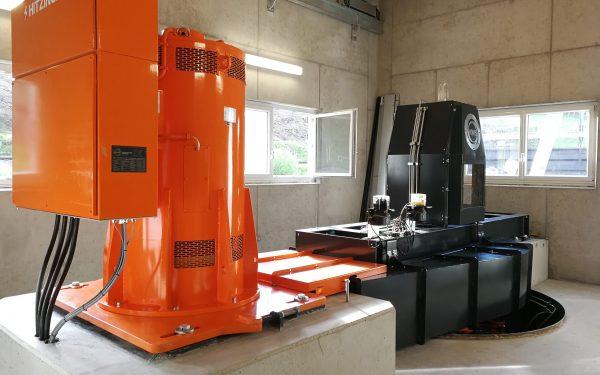 WWS Kaplan turbine with belt drive